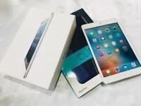iPad mini LARGE 64GB, SILVER EDITION, BOXED, NEW CASE