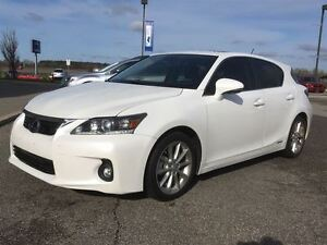 2013 Lexus CT 200h CVT Leather,Roof,H.Seats,B.Tooth