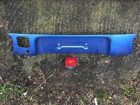 Honda crx Del sol rear panel with fog light Vti ukdm edm