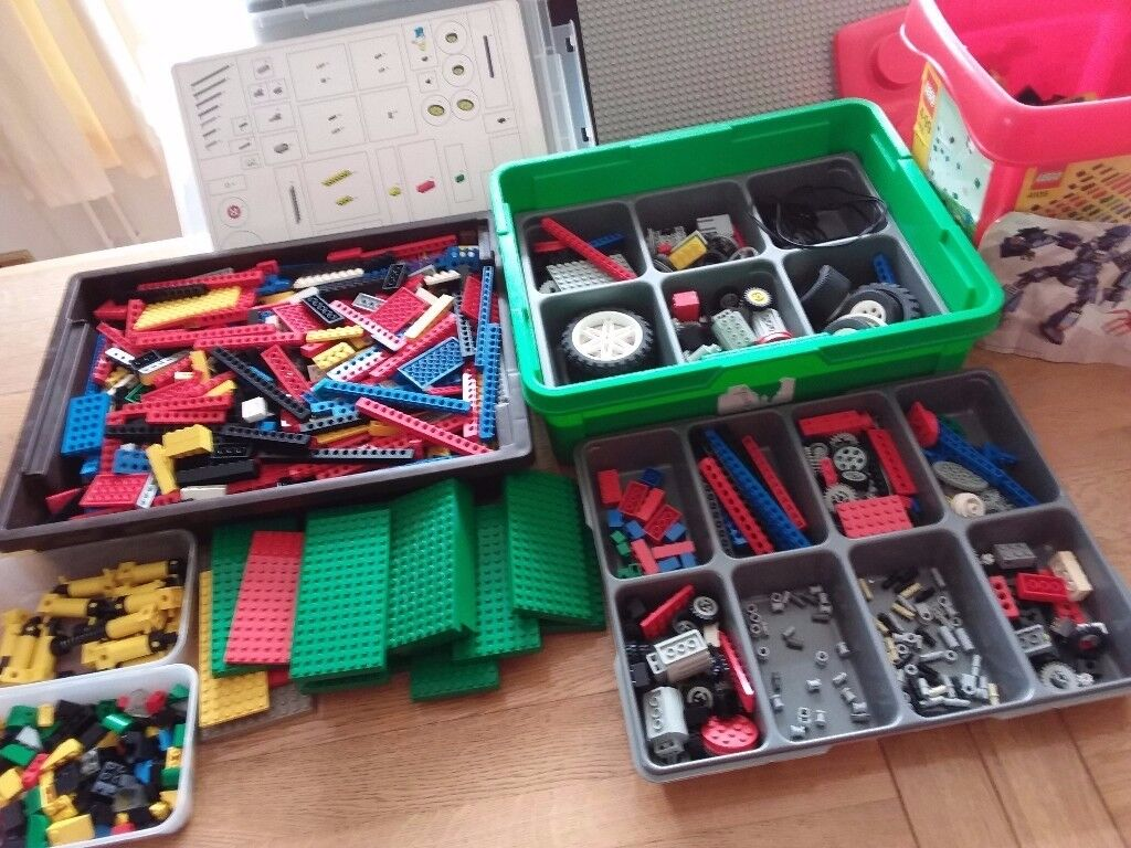 Lego - mixture of all sorts.