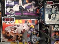 WANTED/ Vintage Star Wars Figures and Toys