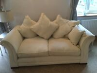 Cream scatterback sofa