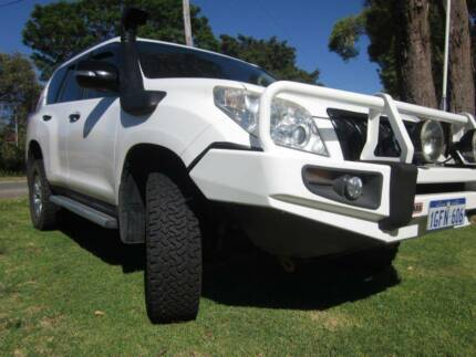 2011 Toyota Landcruiser Prado KDJ150R Upgrade GX (4x4) White 5 Sp