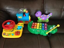 Toy Bundle (Vtech & Fisher Price)