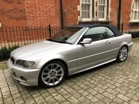 Bmw 325i Auto M Sport Convertible Soft Top Silver Full Service History Very Clean 2004