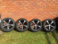 Volvo alloy wheels 5x108 and 225/40. ZR18 tyres
