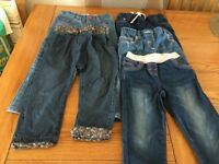 GIRLS 2-3 YRS OLD JEANS BUNDLE