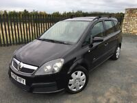 2006 56 VAUXHALL ZAFIRA 1.6 LIFE *7 SEATER* M.P.V - *LOW MILEAGE* - ONLY 2 FORMER KEEPERS FROM NEW!