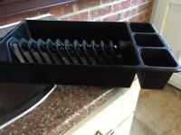 Black Washing Dish Rack 50p in Good Clean Condition 50p