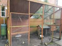Chicken coop and run for sale including extra bits if wanted