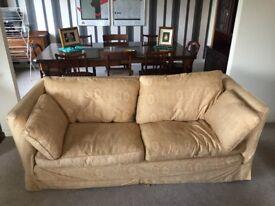 Gold Colored Sofa