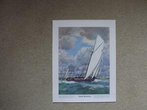 FS: The Prudential Collection Bluenose Schooner Print