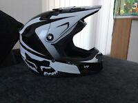 Fox Kids motor bike helmet