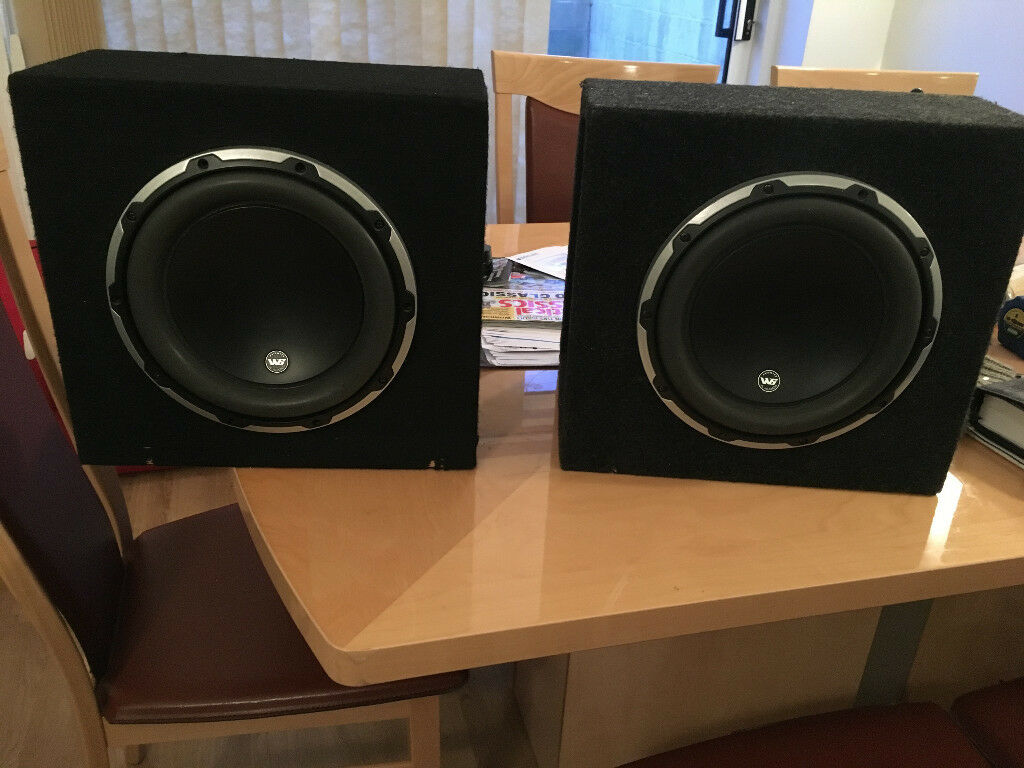 Audio 10 Inch Subwoofer Safeandsoundhq Jl D110 Gloss Dominion Dual 10w6v2 D4 In Salisbury Wiltshire