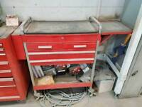 Bluepoint snapon tool trolly