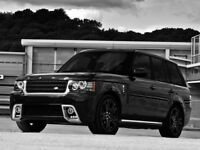 22 inch Wheels & Tyres Kahn RS600 Range Rover Sport L494 Vogue L405 Set of 4