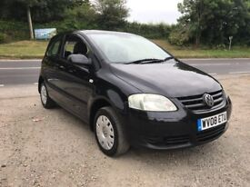VOLKSWAGEN FOX 75 1.4 3DR BLACK 2008