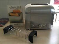 Magimix Le Toaster - 2 slice toaster, brushed steel