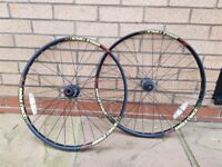 26inch Sun rim - Single track wheels.