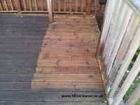 Pressure cleaning, Driveway cleaning, Patio cleaning, Deck or fence cleaning, £2.50 per square metre