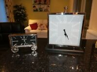 Stainless steel clocks