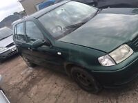 2000 Volkswagen Golf, 2.0 Diesel, Breaking for parts only, All parts available