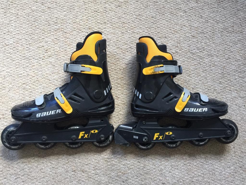 Bauer Fx1 Roller Blades Size 5 163 15 Ono In Farnham