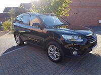 2011 Hyundai Santa Fe 2.2 CRDi Premium Manual 194 BHP 4x4 SUV 5dr (5 Seats)