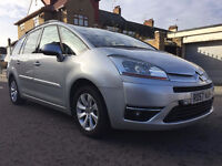 2007 Citroen Grand C4 Picasso 1.6 HDi Exclusive EGS 5dr,Automatic,Diesel,0 previous Owner,7 Seater