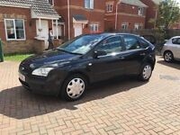 BLACK FORD FOCUS 1.6, MOT FEB 2017, JUST SERVICED, SONY CD PLAYER, HPI CLEAR