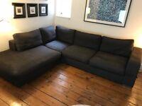 Bo Concept Cenova corner sofa with lounging unit