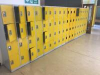 Personal Lockers to clear
