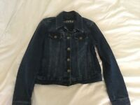 Denim jacket girl age 8 to 9 years