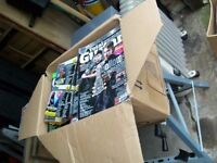 BOX OF OLD GUITAR MAGS - MANY WITH CDs - A FIVER - HALIFAX