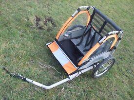 Cycle trailer/buggy