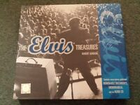 The Elvis Treasures by Robert Gordon REMOVABLE DOCUMENTS, MEMORABILIA and an audio CD