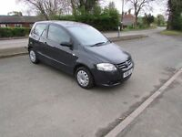 VOLKSWAGEN FOX 1.2 3DR GREY VERY LOW MILES 12 MONTHS MOT