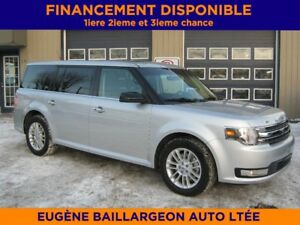 2017 Ford Flex SEL AWD cuir, toit panoramique GPS