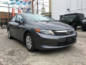 2012 Honda Civic LX Certified, Financing is available