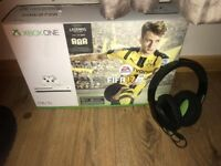 Xbox One S with Games and Official Headset.