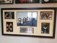 Metallica Memorabilia Display