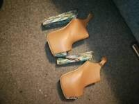 Size 3 boohoo platform heel