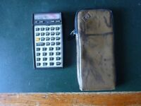 HEWLETT PACKARD 41CX CALCULATOR AND PERIPHERALS