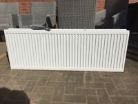 White double radiator