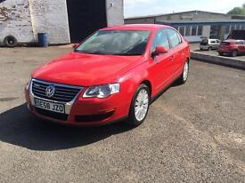2008 (58) VOLKSWAGEN PASSAT HIGHLINE BLUEMOTION TDI IN RED1.9 LITRE TDI VERY CLEAN .AUDI A4 A6