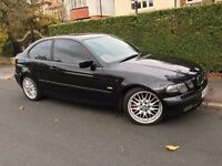 BMW 325I TI COMPACT SPORT AUTOMATIC FULL RED LEATHER