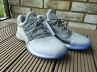 NEW! Adidas men basketball harden shoes, grey, 9.5 UK size
