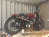 BSA A10 650 - Bobber Project