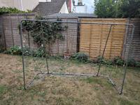 Aluminium Framed Football Goal - 7ft x 5ft