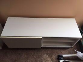 Ikea TV Unit Bench White NEED GONE ASAP